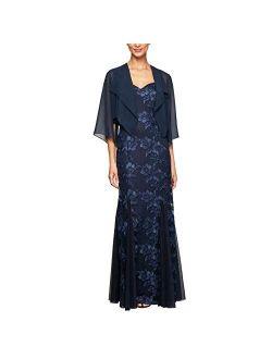 Women's Long Lace Jacket Dress