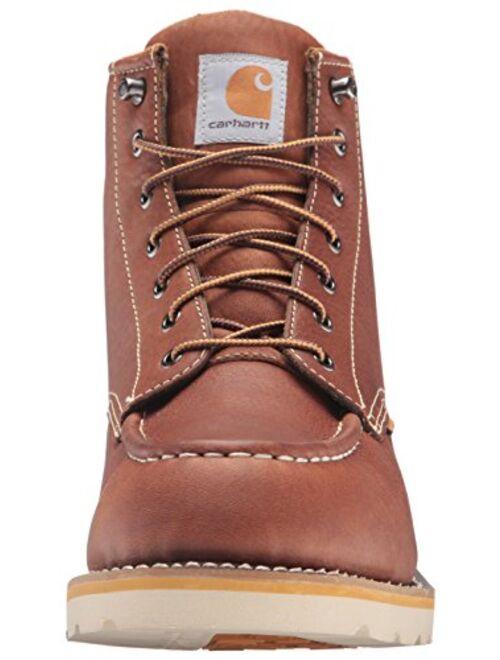 Carhartt Men's 6 Inch Waterproof Wedge Soft Toe Work Boot