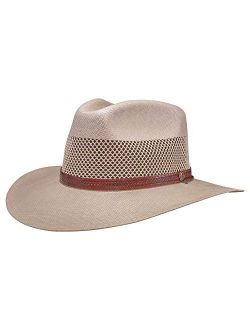 American Hat Makers Florence Straw Sun Hat — Handcrafted, Lightweight