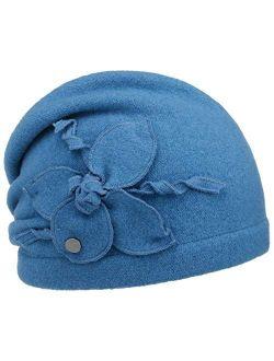Monselia Milled Wool Hat Women -