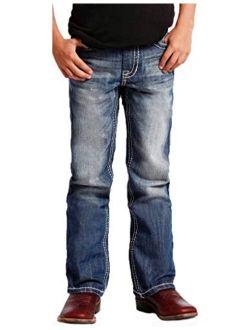 Rock & Roll Denim Cowboy Raised Double V Jeans