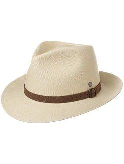 Rustic Panama Straw Hat Women/men - Made In Ecuador