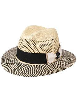 Classy Traveller Panama Hat Women/men - Made In Italy