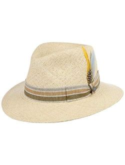 Tyrell Panama Hat Women/men - Made In Italy