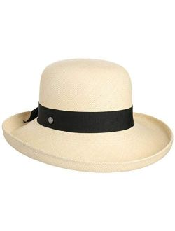Pasadena Panama Upward Brimmed Hat Women - Made In Ecuador