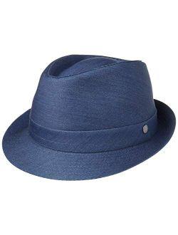 Payato Jeans Denim Trilby Hat Women/men - Made In Italy