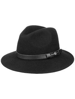 Chicago Wool Felt Traveller Hat Women/men - Made In Italy