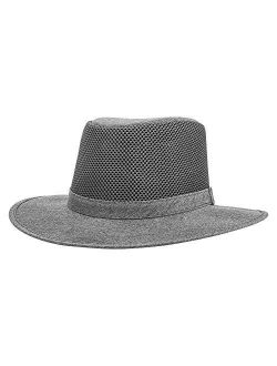 American Hat Makers Roamer Mesh Hat — Handcrafted, Breathable, Highly Durable, Water Repellent, UV Sun Protection, System