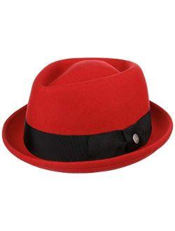 Diamond Crown Wool Felt Hat Women/men - Made In Italy