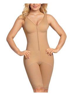 Leonisa Full Body Front Zipper Slimming Faja Shaper
