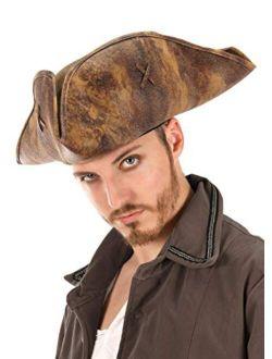 elope Adult Jack Sparrow Tricorne  Hat
