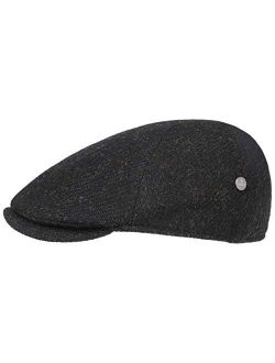 Harris Tweed Gatsby Flat Cap Men - Made In Italy