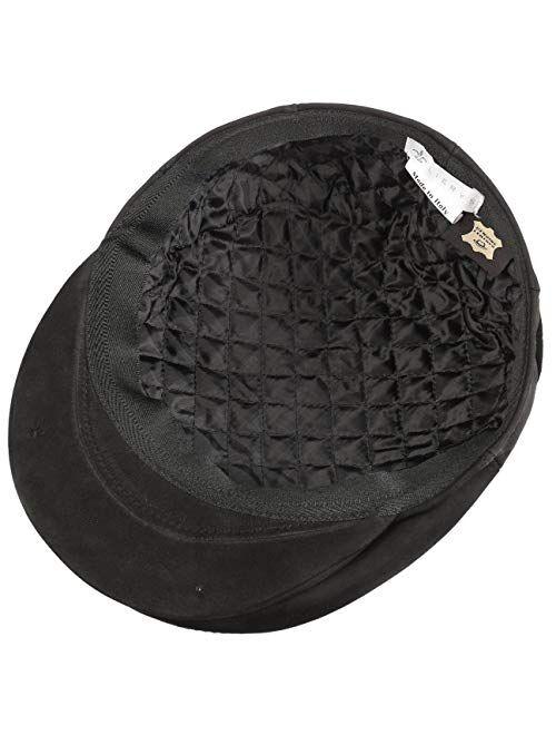 Lierys Leather Flat Cap Women/Men | Made in Italy