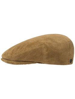 Glaston Corduroy Flat Cap Men - Made In The Eu