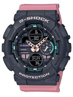 S' Casio G-shock S-series Pink Resin Band Watch Gmas140-4a