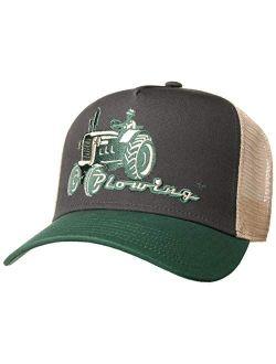 Plowing Trucker Cap Men -