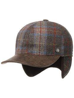 Shetland Wool Cap With Ear Flaps Women/men - Made In Italy