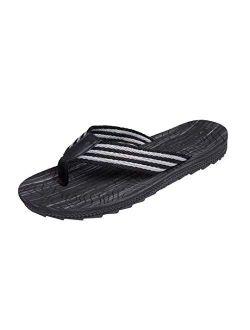 Jinsha Flip Flops Sandals Deodorant Comfortable Soft Support Non-Slip Thong Sandals Outdoor Summer Beach Unisex Men