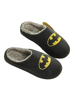 SHYPT Slippers House Men's Shoes Home Plush House Slippers Lovers Men Adult Slipper Man Winter Shoes Slippers (Color : C, Size : 43-44)
