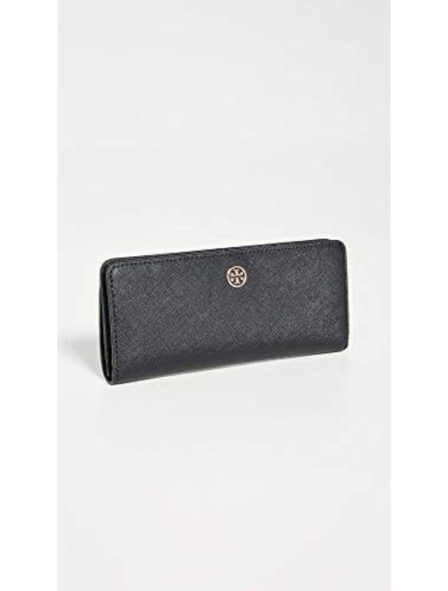 Tory Burch Women's Robinson Slim Wallet