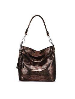 Easygill Women Handbags Leather Crossbody Shoulder Bags Messenger Hobos Bags