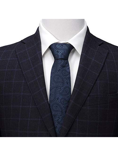 Cufflinks, Inc. Mandalorian The Child Paisley Navy Tie