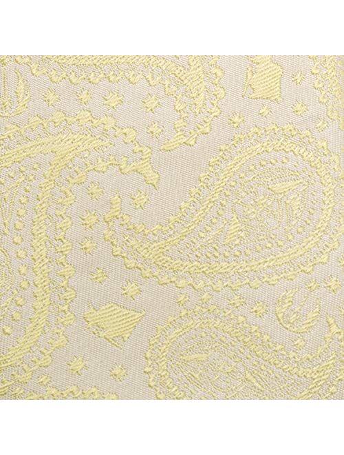 Cufflinks, Inc. Yoda Paisley Yellow Silk Boy's Zipper Tie