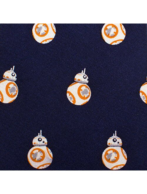 Star Wars BB-8 Boys' Zipper Tie, Officially Licensed