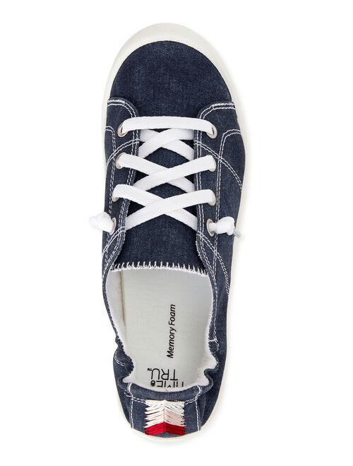 Time and Tru Time & Tru Scrunchback Sneaker (Women's) (Wide Width Available)