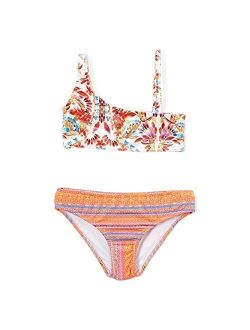 Mayan Velvet Asymmetrical Bikini