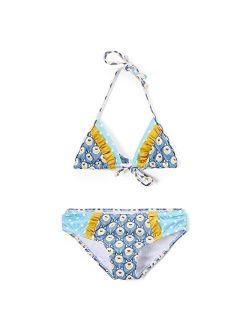 Touch Of Gold Triangle Bikini Swimsuit