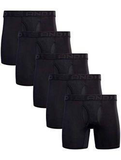 Men's Performance Compression Boxer Briefs (5 Pack)