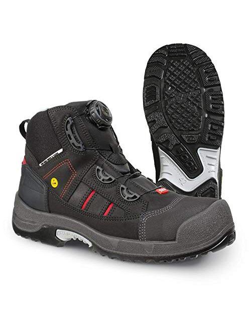 Jalas 1718 Zenit Easyroll Ultralight Hi-Tech Scandinavian Style - Steel Toe - Nail Protection - ASTM Certification Safety Shoes