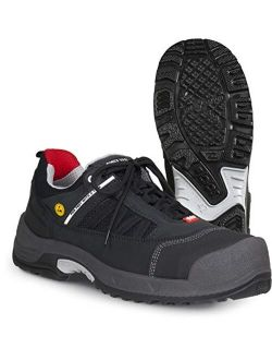Jalas 3018 Zenit Ultralight Hi-Tech Scandinavian Style - Steel Toe - Nail Protection - ASTM Certification Safety Shoes