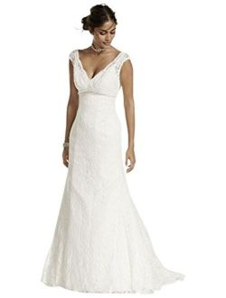 Sample: Beaded Lace Trumpet Gown Style Ai10030205