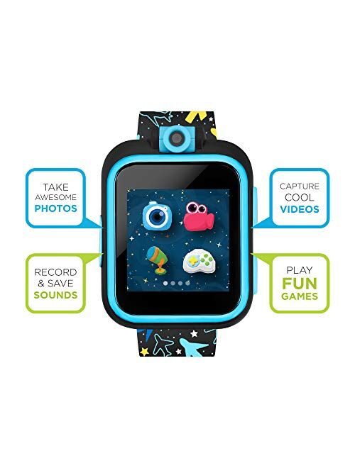 PlayZoom 2 Kids Smartwatch - Video Camera Selfies STEM Learning Educational Fun Games, MP3 Music Player Audio Books Touch Screen Sports Digital Watch Gift for Kids Toddle