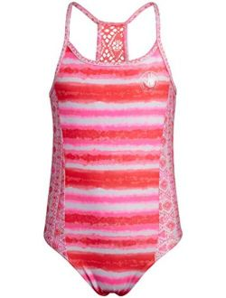 Body Glove Girls One-Piece Swimsuit Bathing Suit in Solids or Prints