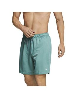 Men's Swim Trunk Mid Length Redondo Solid