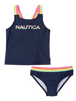 Girls Tankini Swim Suit With 50+ Sun Protection
