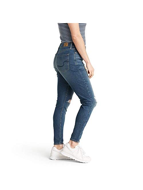 Signature by Levi Strauss & Co. Gold Label Women's Mid Rise Super Skinny Jeans
