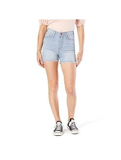 Gold Label Juniors High Rise Shortie Cut Off Shorts