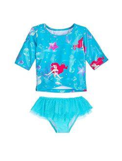 Ariel Deluxe Swimsuit For Girls