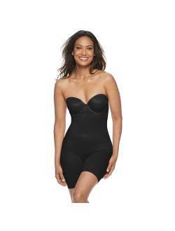 's Red Hot By Spanx® Convertible Cupped Mid-thigh Bodysuit 10173r