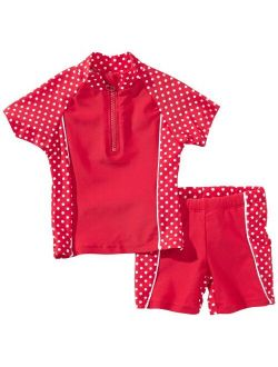 Playshoes Girl's UV Sun Protection Dots Collection Two Piece Swimsuit