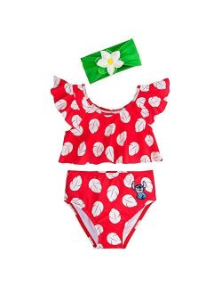 Lilo & Stitch Deluxe Swimsuit Set For Girls