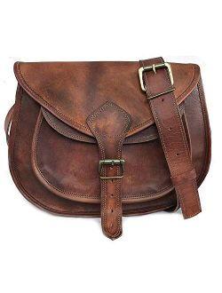 Leather Purse Women Shoulder Bag Crossbody Satchel Ladies Tote Travel Purse Genuine Leather