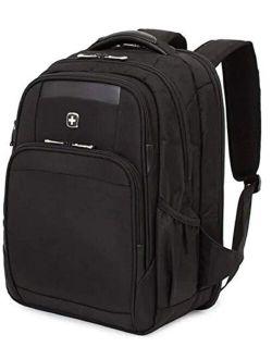 6392 Scansmart Ultra Premium Large Padded Laptop Tsa Friendly Usb Charging Port Backpack - Black On Black