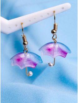 Umbrella Design Earrings