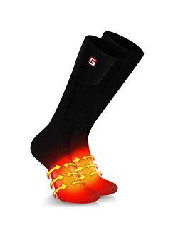 Upgraded Heated Socks Men Women Rechargeable Battery Powered Electric Warm Socks