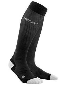 Men's Compression Run Socks - CEP Ultralight Tall Socks for Performance